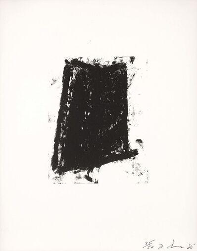 Richard Serra, 'Sketch #5', 1981