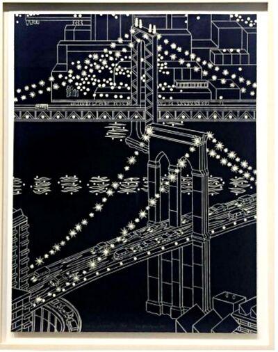 Yvonne Jacquette, 'Two Bridges III', 2008
