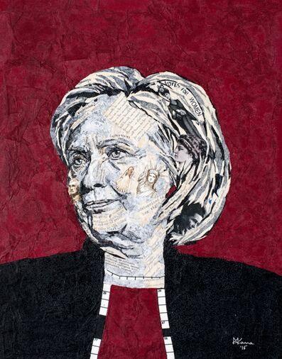 Mihira Karra, 'Portrait of Hillary', 2015