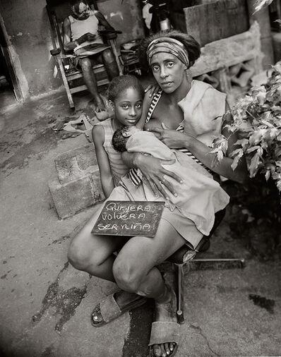 Martin Weber, 'Quisiera volver a ser niña. La Habana, Cuba', 1999