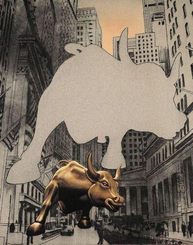 Zhong Biao 钟彪, 'The golden calf', 2008