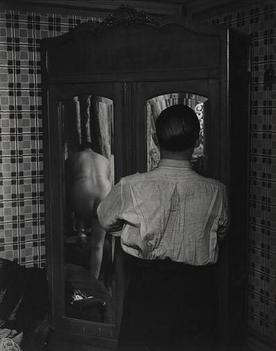 Brassaï, 'Armoire à glace dans un hôtel de passe, rue Quincampoix (Mirrored wardrobe in a brothel, Rue Quincampoix)', 1932