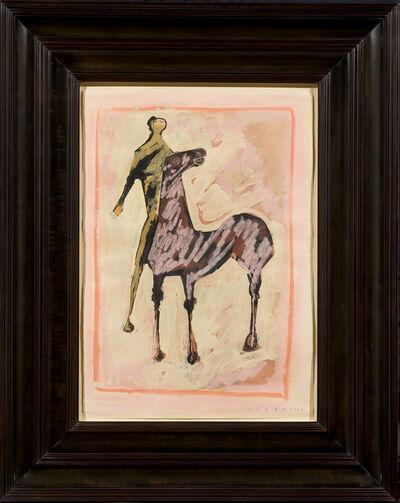 Marino Marini, 'Cavallo e Cavaliere', 1952