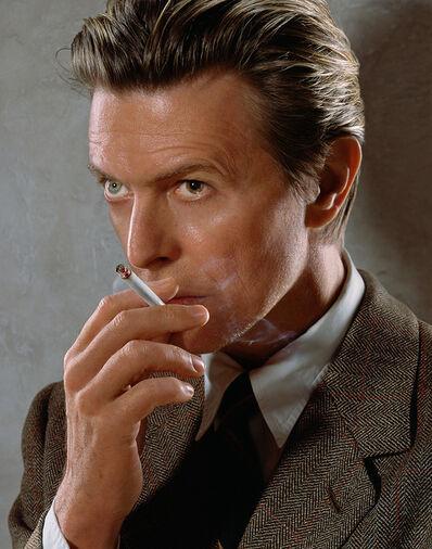 Markus Klinko, 'Bowie Smoking 12/50', 2002