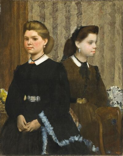 Edgar Degas, 'The Bellelli Sisters (Giovanna and Giuliana Bellelli)', 1865-1866