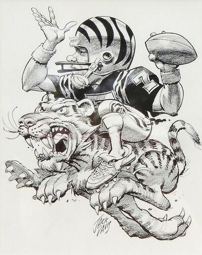 Jack Davis, 'Cincinnati Bengals', 1990