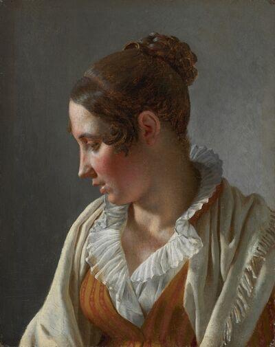 Christoffer Wilhelm Eckersberg, 'Portrait of Emilie, a Model', 1813