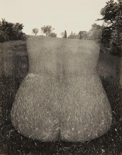 Harry Callahan, 'Aix-en-Provence (Nude, Back)', 1958