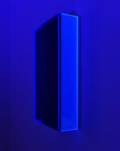 Regine Schumann, 'Colormirror satin glow after blue Milan', 2020