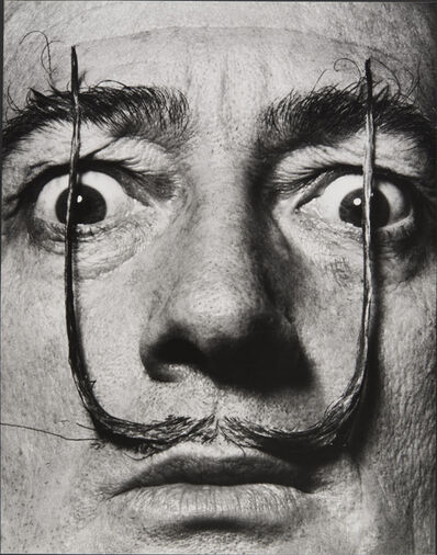 Philippe Halsman, 'Like Two Erect Sentries, My Mustache Defends the Entrance to My Real Self, Dalí's Mustache', 1954