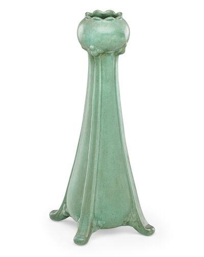Teco, 'Tall floriform vase', ca. 1910