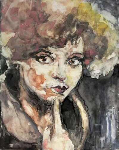 """Patty Rooney, '""""A sex symbol is a heavy load to carry when one is tired, hurt and bewildered."""" -- Clara Bow', 2017"""