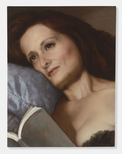 John Currin, 'The Pillow', 2006