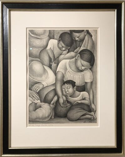 Diego Rivera, 'Sleeping Children', 1932