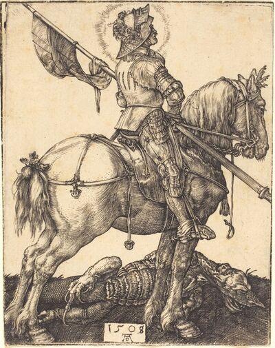 Albrecht Dürer, 'Saint George on Horseback', 1508