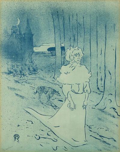 Henri de Toulouse-Lautrec, 'La Châtelaine', 1895