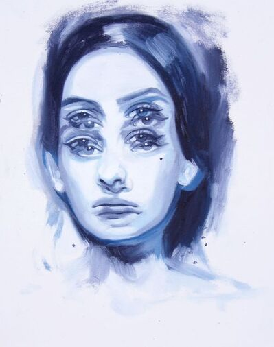 Alex Garant, 'Proprioception Blue Study II', 2017