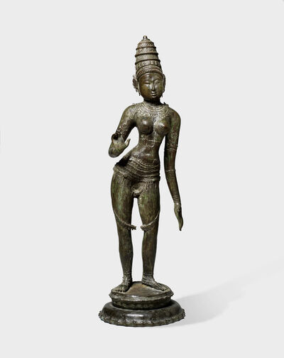 Indian, 'Parvati, Pandyan or Chola Dynasty', ca. 10th century