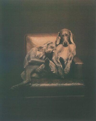 William Wegman, 'Best Buddies', 1993