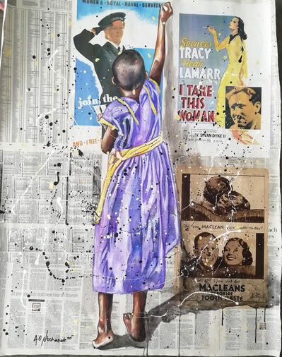Andrew Ntshabele, 'Life lessons II', 2020