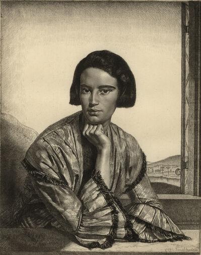 Gerald Leslie Brockhurst, 'Viba', 1929