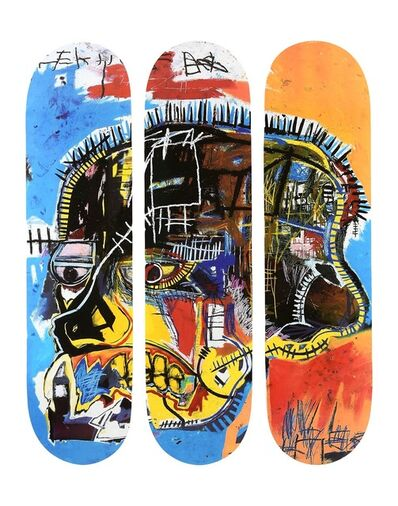 Jean-Michel Basquiat, 'Skull Skateboards', 2019