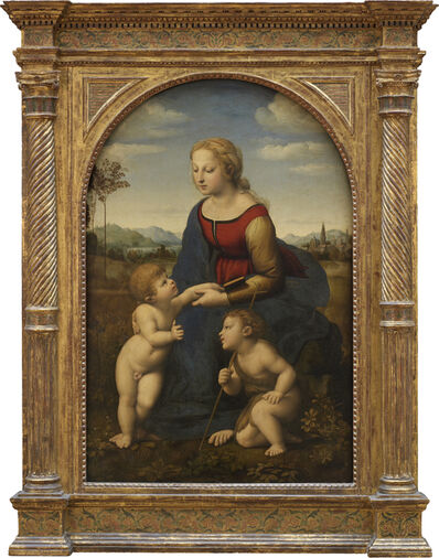 Raphael, 'La Vierge et l'enfant avec le petit saint Jean-Baptiste, dite La Belle Jardinière (The Virgin and child with the infant Saint John)'