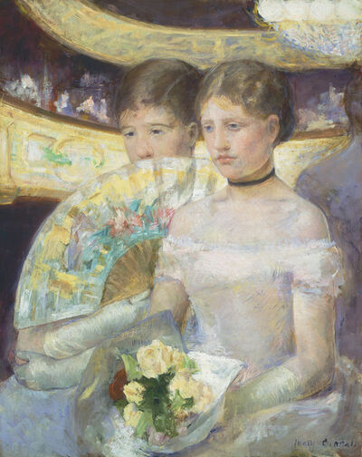 Mary Cassatt, 'The Loge', 1882