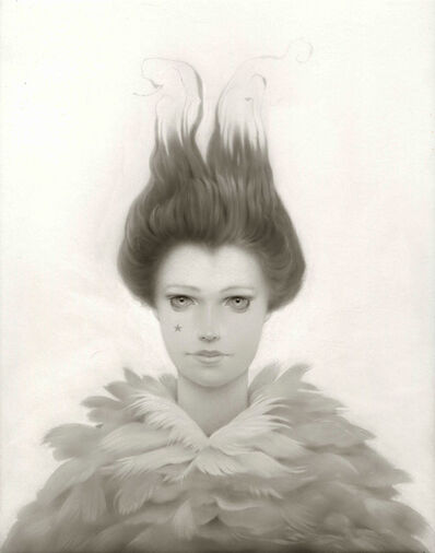 Travis Louie, 'The Feathered Lady', 2018