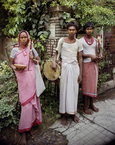 Laura McPhee, 'Devotees of Shiva, Jodhpur Park, Kolkata', 1998
