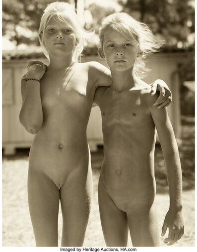 Jock Sturges, 'Sasha and Bettina, Montalivet, France', 1989