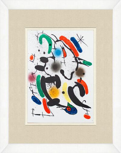 Joan Miró, 'Litografia Original VI'