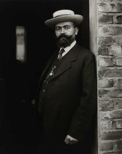 August Sander, 'Headmaster', 1910