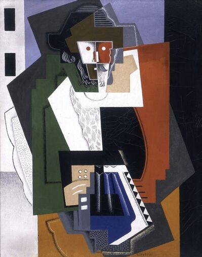 Gino Severini, 'The Accordion Player', 1919