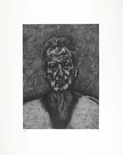 Lucian Freud, 'Self Portrait: Reflection', 1996