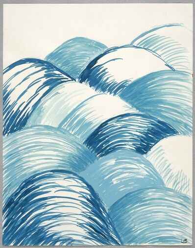 Louise Bourgeois, 'BLUE DAYS', 2004