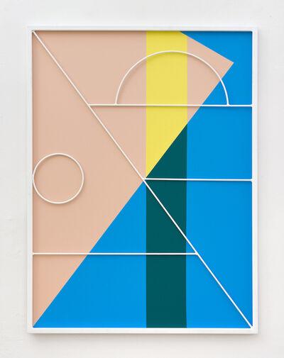 Przemek Pyszczek, 'Facade Painting VI, CA', 2019