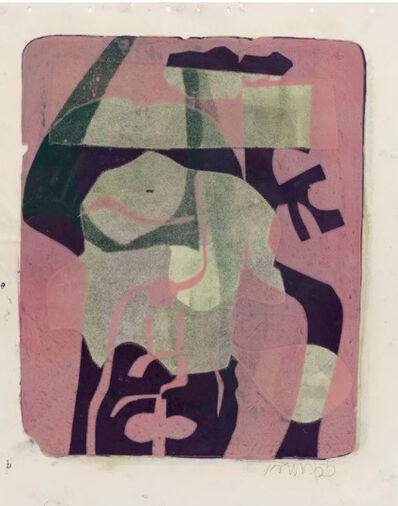 Harold Town, 'Untitled (Mauve Magic) ', 1955
