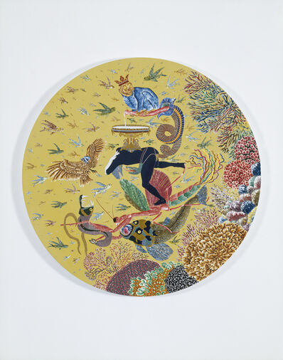 Raqib Shaw, 'The Garden of Earthly Delights XIV', 2005