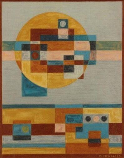 Emil Bisttram, 'Indian Symbols Abstraction', 1939