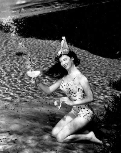 Bruce Mozert, 'Silver Springs Underwater (Cocktail Party Cheers)', 1940-1970