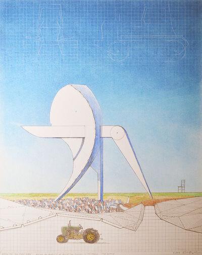 Ken Ragsdale, 'Sketch for The First Wave''