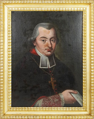18th Century Painter, 'Portrait of Bishop / Cardinal', Second half of 18th Century