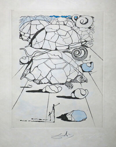 Salvador Dalí, 'La Tortue, Poèmes de Mao Tse-Toung. (The Turtle, Poems by Mao Tse-Toung).', 1967