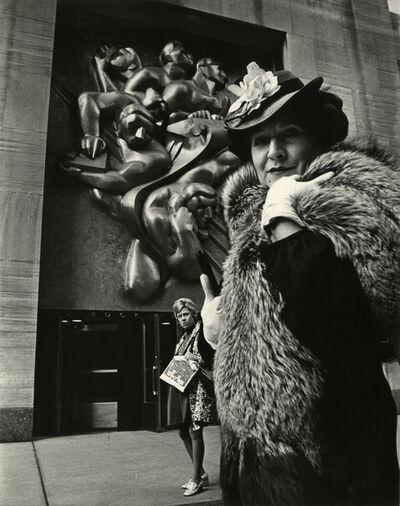 Bill Cunningham, 'Rockefeller Center, New York City', ca. 1968-1976