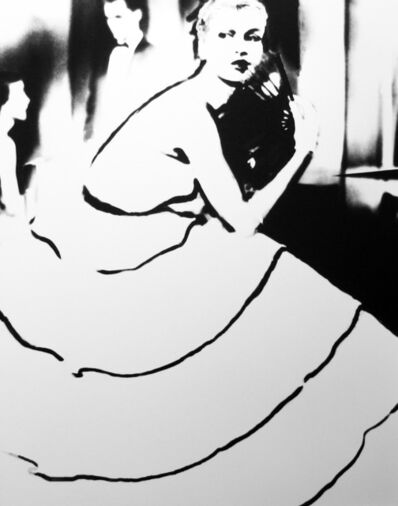 Lillian Bassman, 'Born to Dance: Margie Cato in a dress by Emily Wilkins, New York', 1948