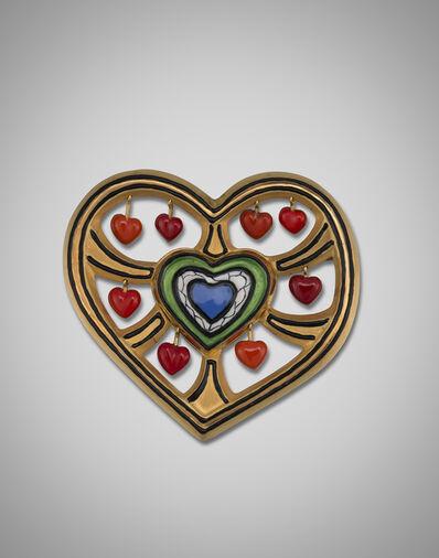 Niki de Saint Phalle, 'Heart Tree, Brooch & Pendant', 1990