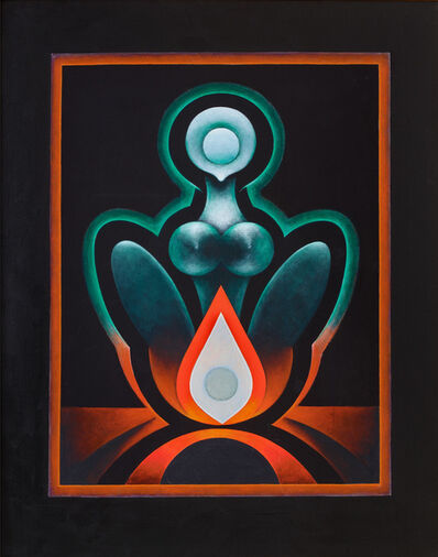Gulam Rasool Santosh, 'Untitled (Tantra)', 1976