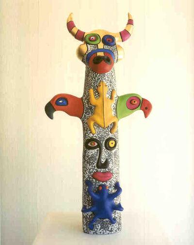 Niki de Saint Phalle, 'Totem: Bull Head', 2000