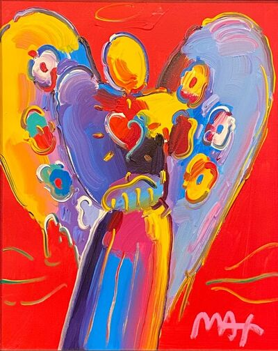 Peter Max, 'Angel With Heart', Recent